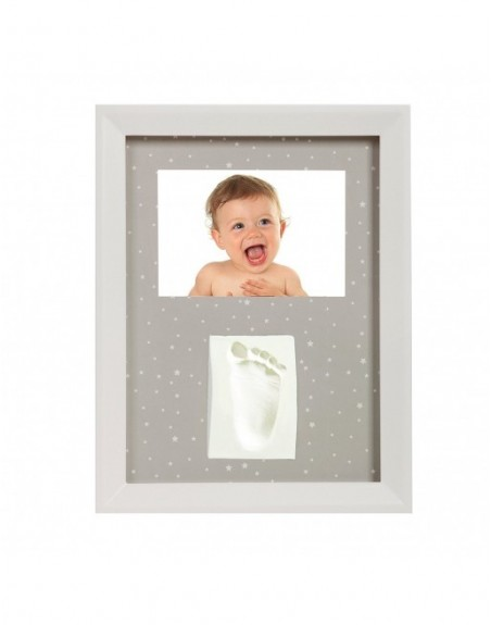 Bilderrahmen-Abdruck-Set für Babys Hand oder Fuß