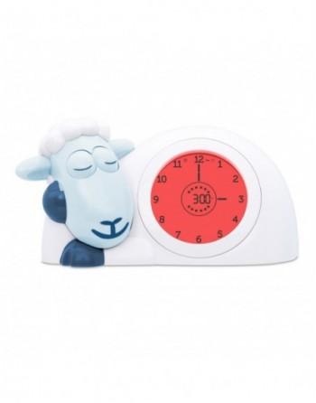 SAM - Schlaftrainer, Uhr & Nachtlicht in Weiß mit Blau