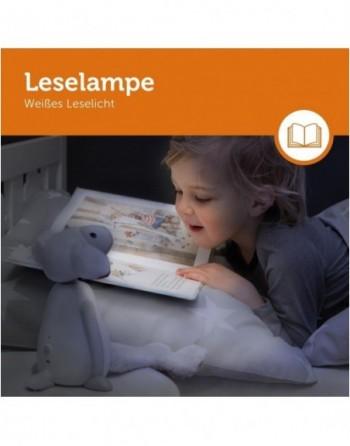FIN - Leseleuchte & Einschlaflicht in Grau